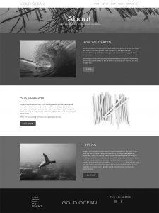gold-ocean-website
